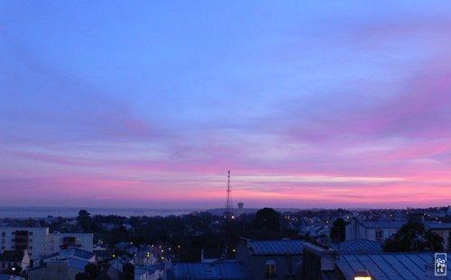 Pink sunset coucher de soleil rose sophie s maze - Coucher de soleil rose ...
